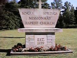 Single Springs Cemetery