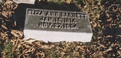 """Eliza Ann """"Grandma"""" <I>Lindley</I> Barnett"""