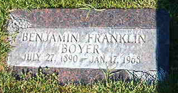 Benjamin Franklin Boyer