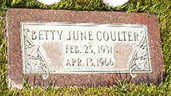 Betty June Coulter