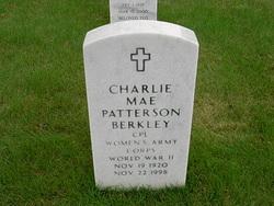 Charlie Mae <I>Patterson</I> Berkley