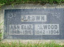 Ann Elizabeth <I>Brown</I> Brown