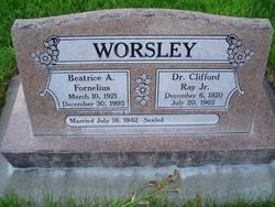 Beatrice Adelaide <I>Fornelius</I> Worsley