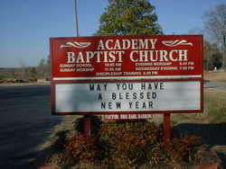 Academy Baptist Church Cemetery