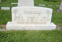 Mary  Elinor <I> Roberts</I> Archibald