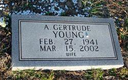 A. Gertrude <I>Cansler</I> Young