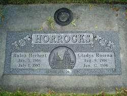 Gladys Rosena <I>Cheney</I> Horrocks
