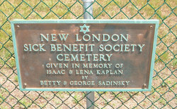 New London Sick Benefit Society Cemetery