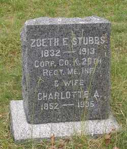 Corp Zoeth Eldridge Stubbs