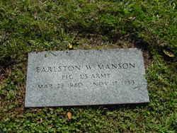 Earlston W. Manson