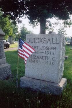 Capt Joseph K Quicksall