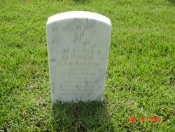 Jeanne <I>O'Brien</I> Garrison