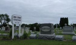Big Foot Cemetery