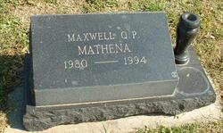 Maxwell Q.P. Mathena