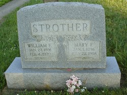 Mary F. <I>Brown</I> Strother