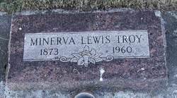 Minerva Elizabeth <I>Lewis</I> Troy