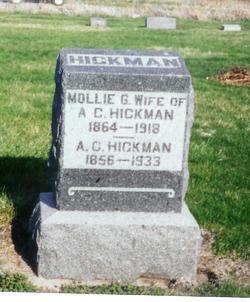 Mary G <I>Morgan</I> Hickman
