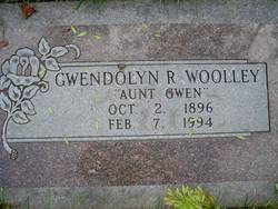 Gwendolyn R Woolley