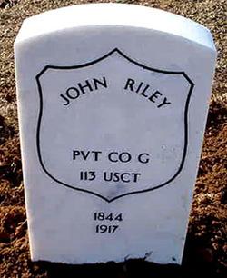 Pvt John Riley