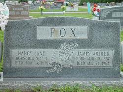 Nancy Jane <I>Blevins</I> Fox