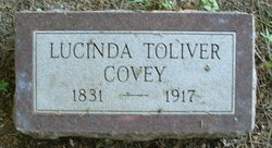 Lucinda <I>Toliver</I> Covey