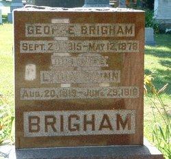 Lydia <I>Shinn</I> Brigham