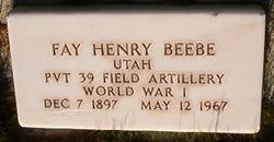 Fay Henry Beebe