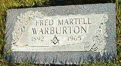 Fred Martell Warburton