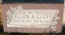 Ellen K Cluff