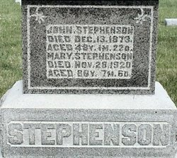Mary <I>Jones</I> Stephenson