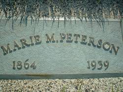 Nettie Marie <I>Micklesen</I> Petersen