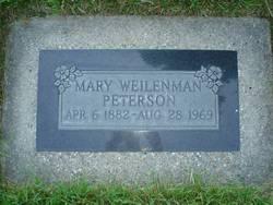 "Bertha Maria ""Mary"" <I>Weilenmann</I> Peterson"