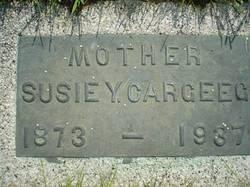 "Susan ""Susie"" <I>Yates</I> Cargeeg"