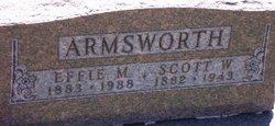 Effie Mae <I>Weddle</I> Armsworth