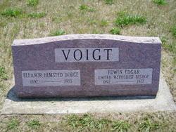 Rev Edwin Edgar Voigt