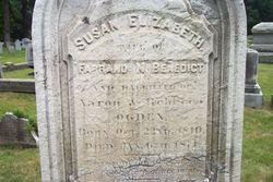 Susan Elizabeth <I>Ogden</I> Benedict