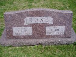 Pearl L.  [Fairbanks] <I>Hoagland</I> Rose