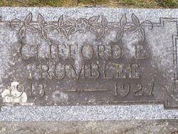 Clifford E. Trumblee