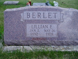 Lillian Elizabeth <I>Wagner</I> Berlet