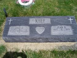 Jean E. <I>Milligan</I> Kief