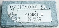 """George W """"Tex"""" Whitmore"""