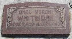 Onel Moroni Whitmore
