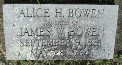 Alice H. Bowen