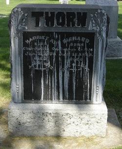 Harriet Ann(a) <I>Glines</I> Thorn