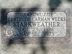 Gertrude Carman <I>Weeks</I> Starkweather