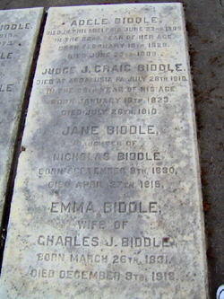 Emma <I>Mather</I> Biddle