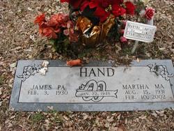 Martha Louise Hand