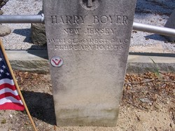 PFC Harry Boyer