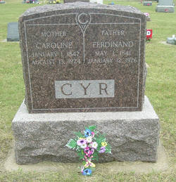 Caroline <I>Sprimont</I> Cyr