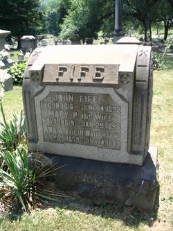 Mary P. <I>Adams</I> Fife